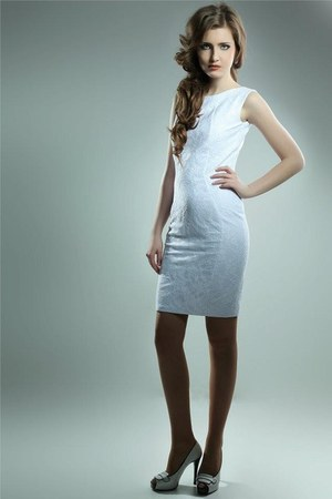 white lace I&W dress