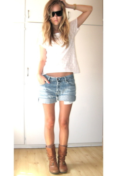 H&amp;M t-shirt - shorts - Ray Ban sunglasses