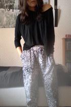 pants - top