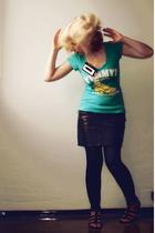 lindex skirt - GINA TRICOT t-shirt - H&M shoes