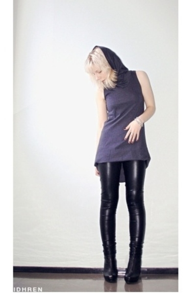 American Apparel dress - Ida Sjstedt leggings - Stockmann bracelet