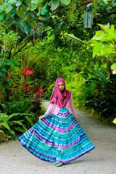 umbrella dress - hijabsosor scarf