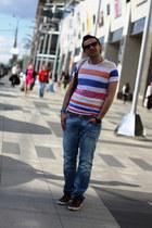 light blue Dsquared2 jeans - bronze Jil Sander bag - burnt orange Hermes belt -