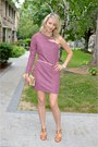 Pink-bcbgeneration-dress-camel-kenneth-cole-purse-tawny-michael-kors-heels