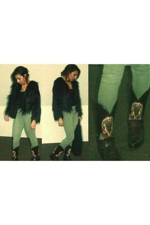 sendra boots - boho Mango bag