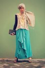 Yellow-rainbow-yellow-dian-pelangi-scarf-maxi-skirt-local-brand-skirt