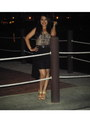 Beige-foever-top-black-zara-skirt