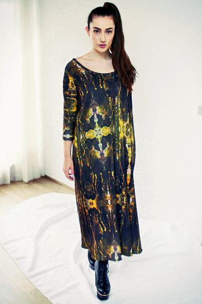 Topshop boots - Silja Hinriksdottir dress