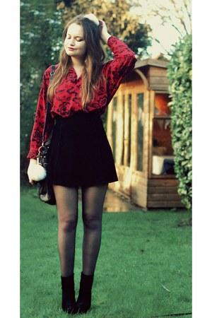 calvin klein shirt - Zara skirt