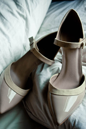 light pink Gap Design Edition heels