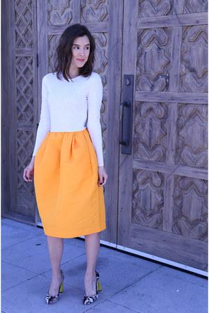 COS dress - Fendi heels