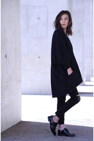 Zara shoes - madewell jeans