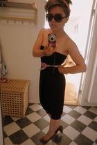 black harem pants - florences belt - orange on my head belt