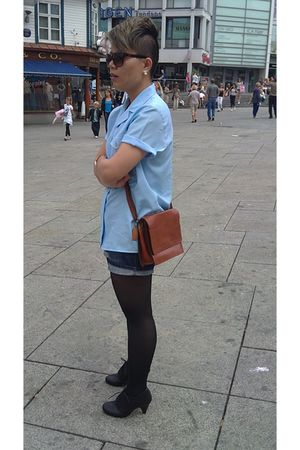 shirt - Cubus shorts - skopunkt shoes - purse