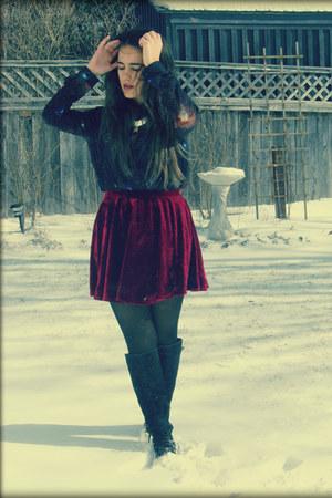 romwe skirt - romwe blouse