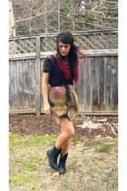 Suzy Shier shirt - romwe skirt