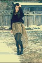 H&M skirt - Jeffrey Campbell heels