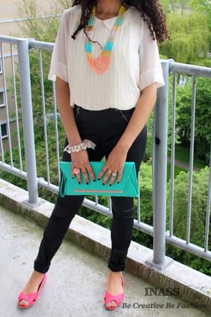 pastel colours Primark accessories - bright colour H&M flats