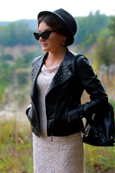 reserved hat - OASAP dress - OASAP sunglasses
