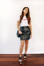 Black-michael-kors-bag-black-asos-skirt-white-boohoo-t-shirt