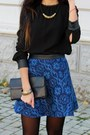 Navy-zara-skirt-black-zara-heels-black-zara-blouse-black-h-m-necklace