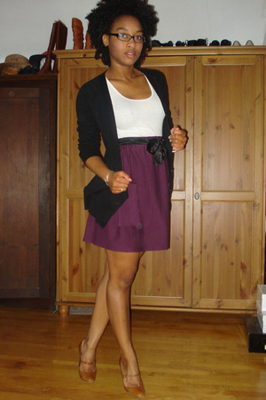 sweater - skirt - DIY skirt - emporio armani shoes