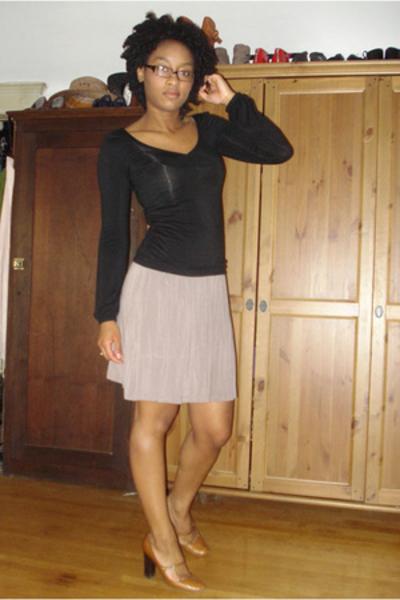 shirt - forever 21 dress - emporio armani shoes