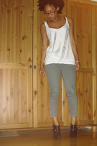 H&M shirt - forever 21 jeans - Colin Stuart shoes