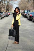 black asos jeans - large tote Target bag - black Forever 21 top