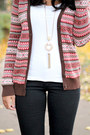 Ankle-boots-old-navy-boots-floppy-hat-h-m-hat-printed-forever-21-cardigan