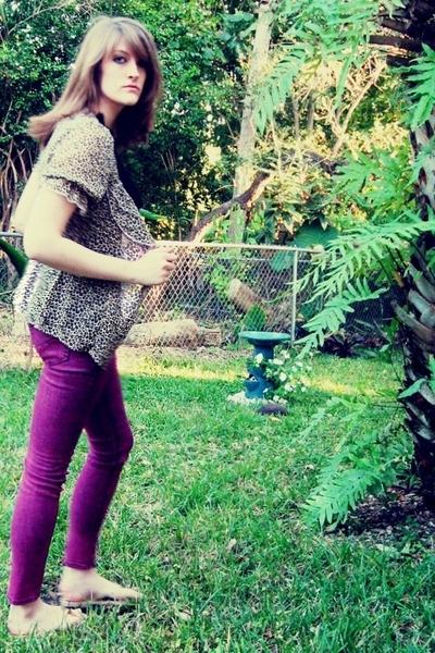 vanilla star jeans - Charlotte Russe blouse