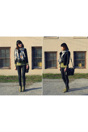 olive green dicker ankle Isabel Marant boots