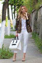6KScom blazer - PERSUNMALL bag - Zara pants - PERSUNMALL heels