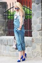 chicnova jeans - Zara heels