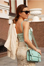 Aquamarine-sammydress-bag
