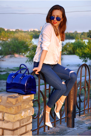 blue candy bag Furla bag