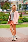 Light-pink-similar-here-reserved-blazer-heather-gray-chicwish-socks