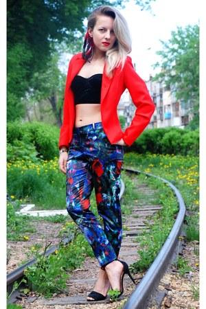 floral print H&M pants