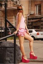 paisley pyjamas vintage shorts
