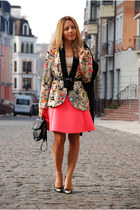 floral print PERSUNMALL blazer