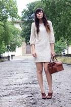 Dorothy Perkins dress - second hand bag