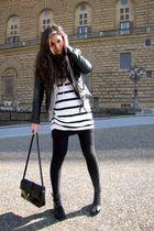 hm accessories - hm dress - hm shoes - vintage purse