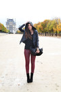 Black-nour-hammour-jacket-black-anye-by-bag-crimson-75-faubourg-pants