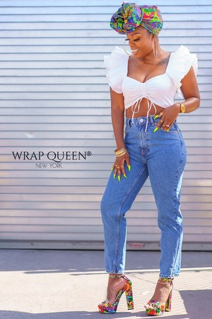 wrap Queen hair accessory