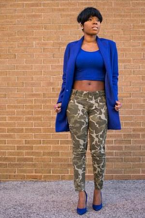 blue Sheinside jacket