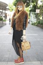 Topshop jacket - Celine bag