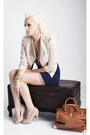 Beige-studded-lulus-blazer-beige-metallic-bows-lulus-shoes-navy-lulus-dress