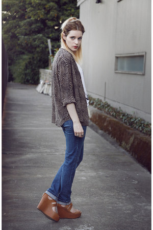 blouse - Cheap Monday jeans - Dolce Vita wedges