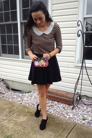 Nordstrom Rack blouse - Betsey Johnson purse - Urban Outfitters skirt