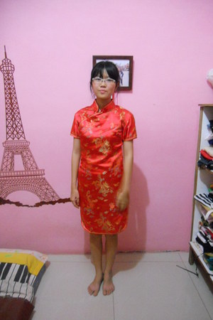 red Chinese Laundry dress